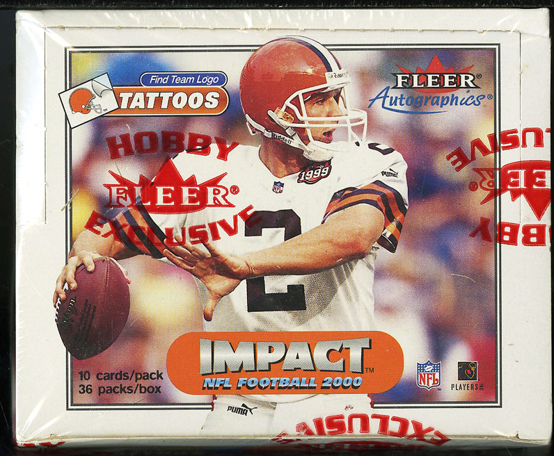2000 Fleer Impact NFL Factory Sealed Hobby Box 36ct Tom Brady ROOKIE RC AUTO? - Image 1
