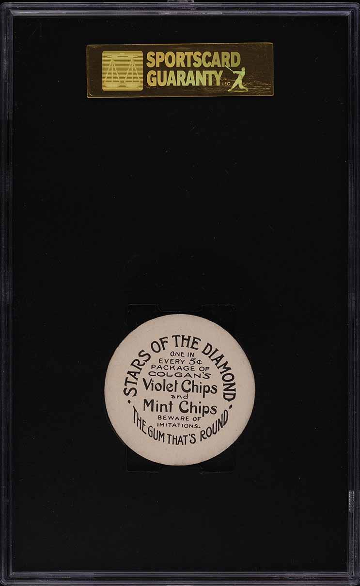 1909 Colgan's Chips Fredd Abbott SGC 7.5 NRMT+ - Image 2