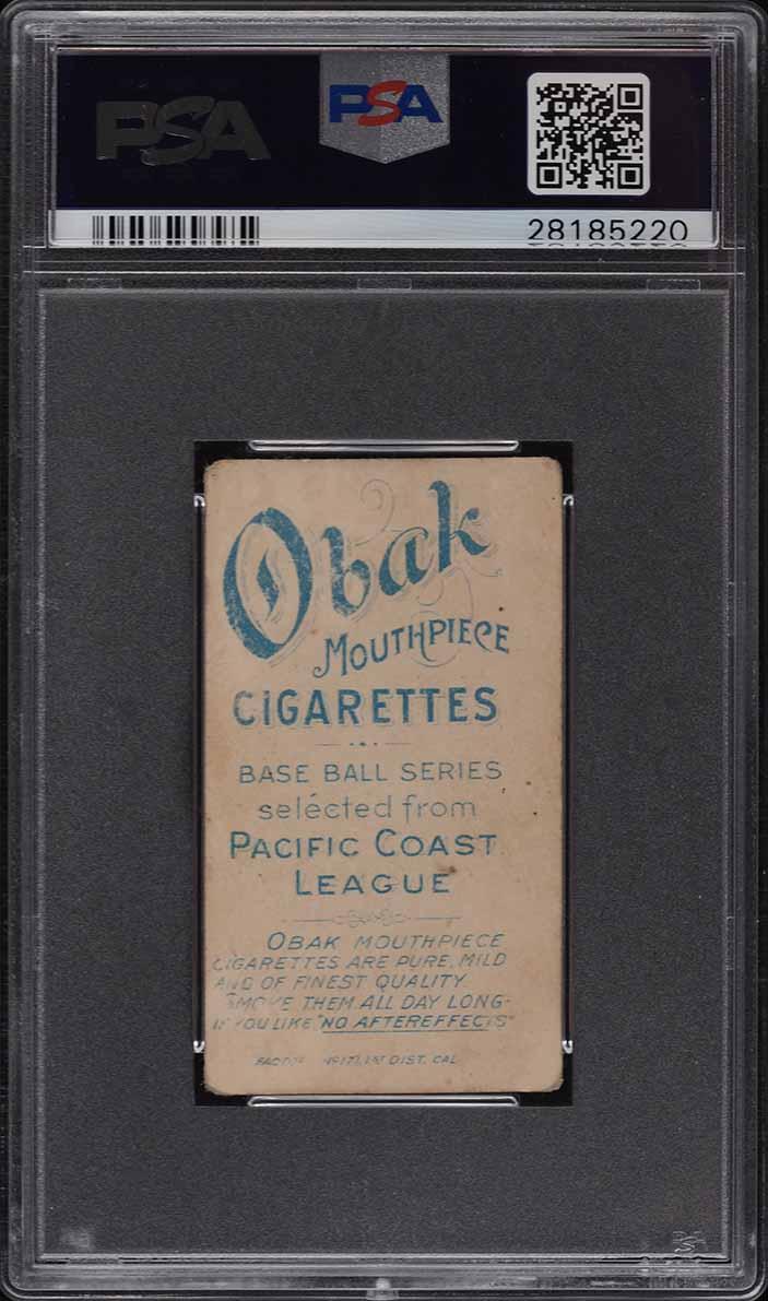 1909 T212 Obak Byrnes PSA 2.5 GD+ - Image 2