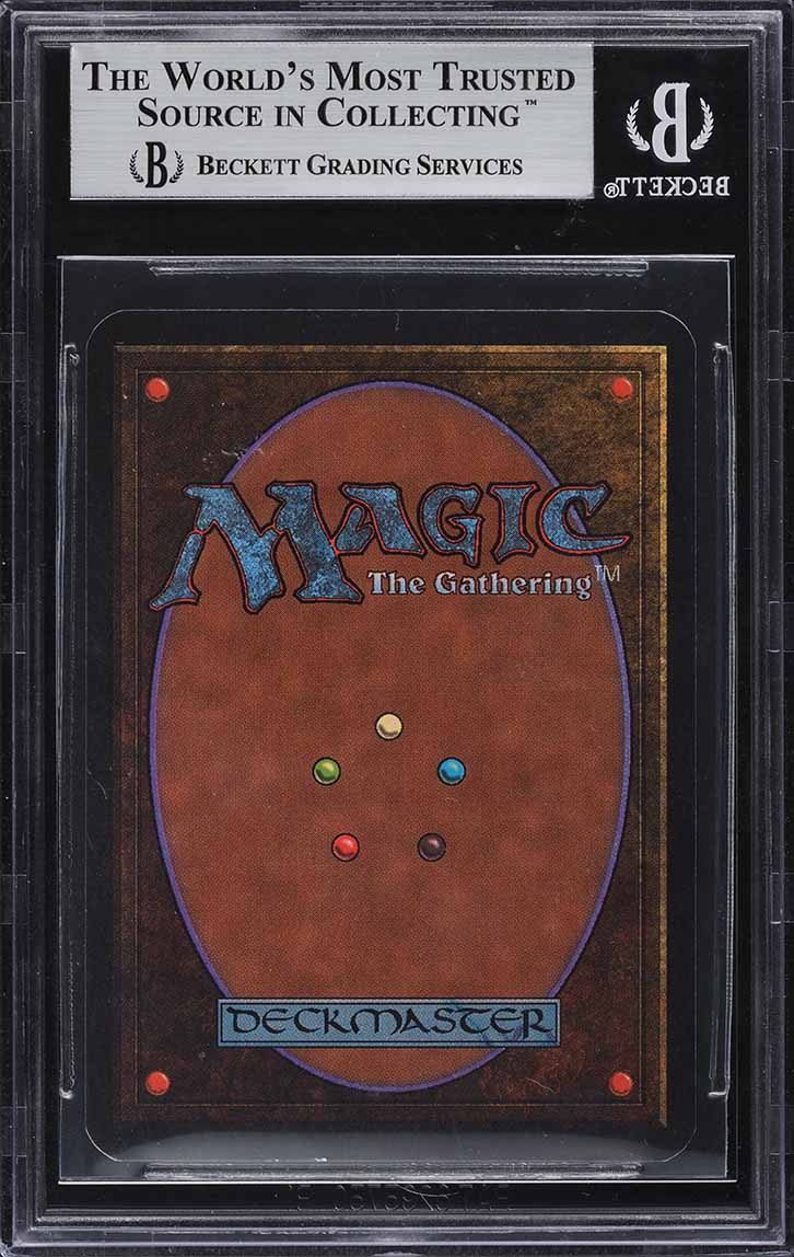 1993 Magic The Gathering MTG Alpha Black Lotus R A BGS 9 MINT - Image 2