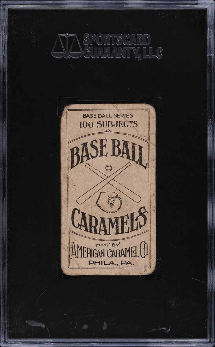 1909 E90-1 American Caramel Ed Summers SGC 1 PR - Image 2