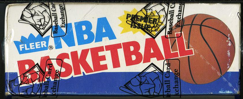 1986 Fleer Basketball Wax Box, 36ct Packs, Michael Jordan ROOKIE, BBCE Auth, LOA - Image 4