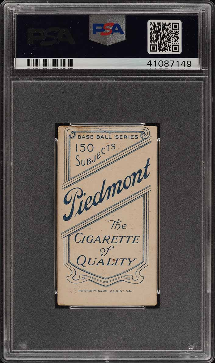 1909-11 T206 Ed Abbaticchio BROWN SLEEVES PSA 3 VG (PWCC) - Image 2