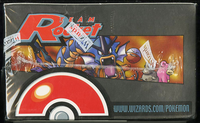 2000 Pokemon Team Rocket 1st Edition Factory Sealed Booster Box - Image 3
