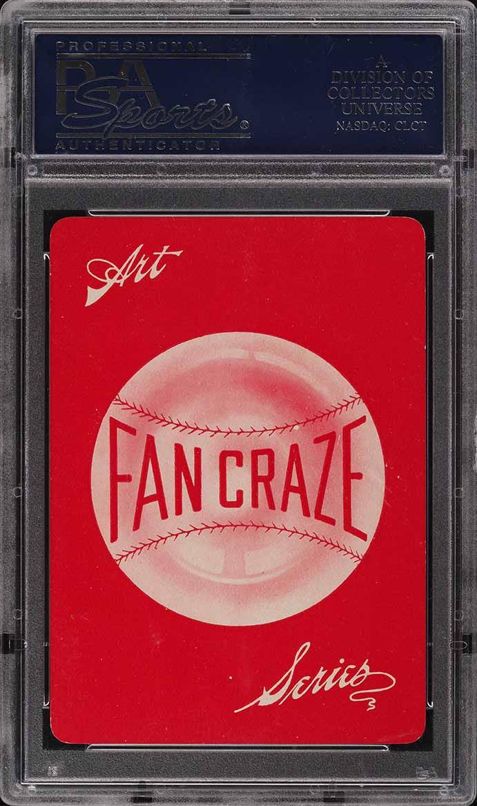 1906 Fan Craze N.L. Joe McGinnity PSA 8 NM-MT - Image 2