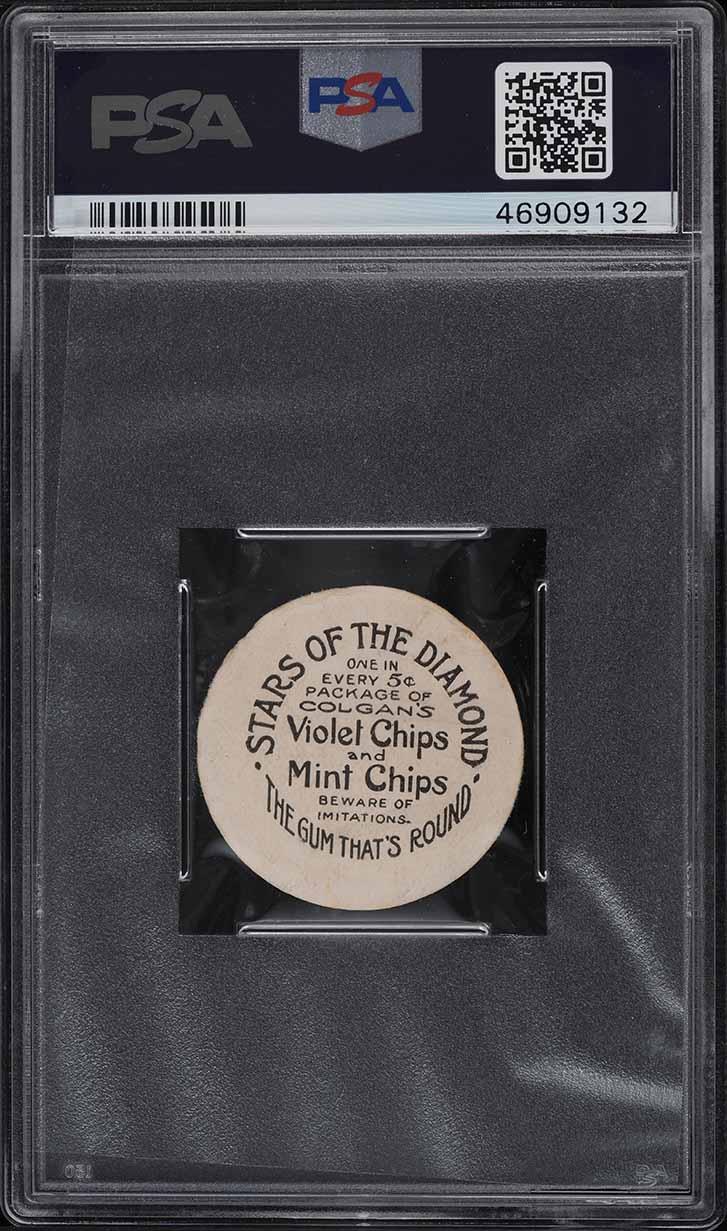 1909 Colgan's Chips Stars Of The Diamond Jack Rowan CINCINNATI PSA 2 GD - Image 2