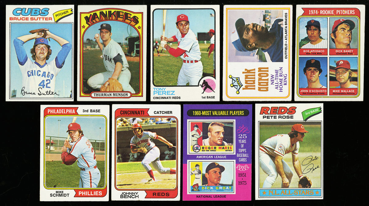 Lot(27) 1952-77 Topps Stars w/ Mantle Rose Seaver McCovey Carew Sutter RC (PWCC) - Image 3