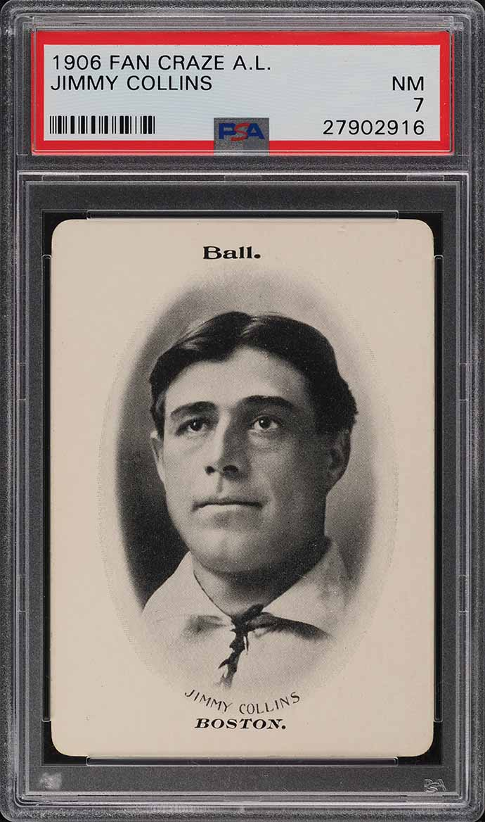1906 Fan Craze A.L. Jimmy Collins PSA 7 NRMT - Image 1