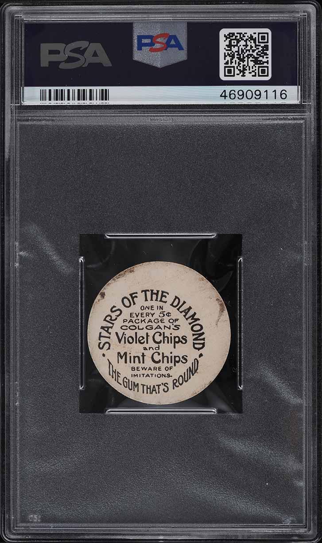 1909 Colgan's Chips Stars Of The Diamond Bill Clymer PSA 2 GD - Image 2