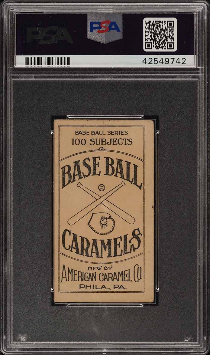 1909 E90-1 American Caramel Fred Clarke PITTSBURGH PSA 4 VGEX (PWCC) - Image 2