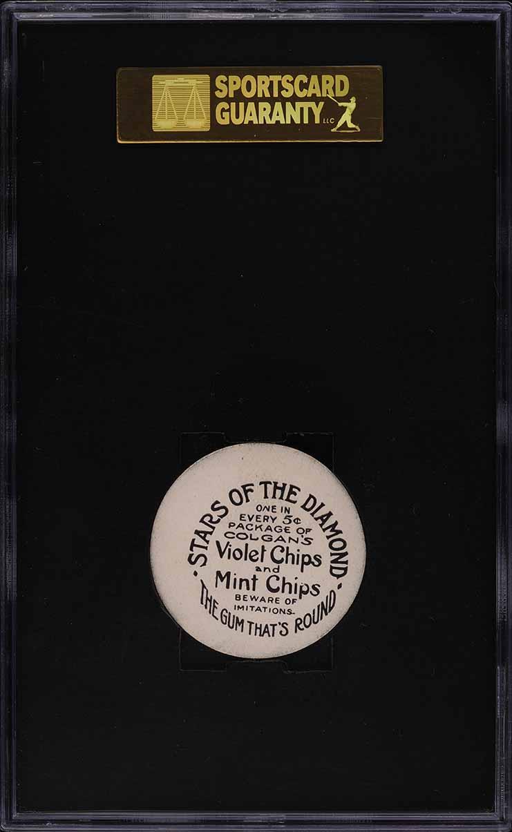 1909 Colgan's Chips Dan McGann SGC 8 NM-MT - Image 2
