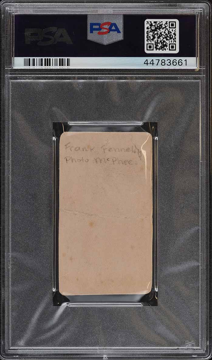1887 N172 Old Judge Frank Fennelly STOOPING HANDS PSA Altered (PWCC) - Image 2