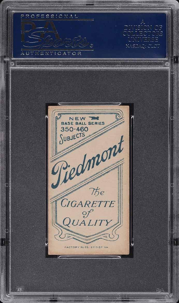 1909-11 T206 Christy Mathewson DARK CAP PSA 4 VGEX - Image 2