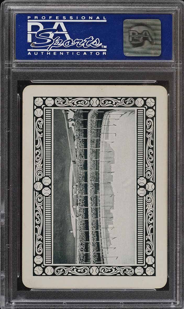1914 Polo Grounds Game Tris Speaker PSA 8 NM-MT (PWCC) - Image 2