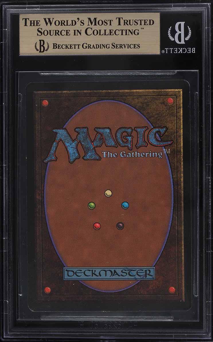 1993 Magic The Gathering MTG Beta Timetwister R B BGS 9.5 GEM MINT - Image 2