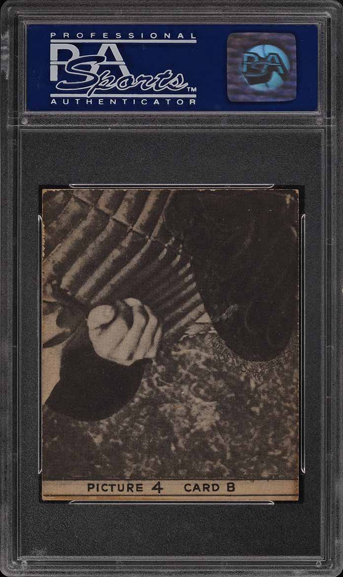 1935 Goudey 4-In-1 Thevenow Wright Traynor Lucas PSA 7 NRMT - Image 2