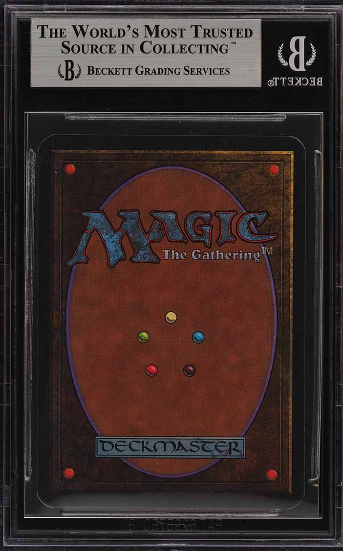 1993 Magic The Gathering MTG Alpha Mox Ruby R A BGS 8.5 NM-MT+ (PWCC) - Image 2