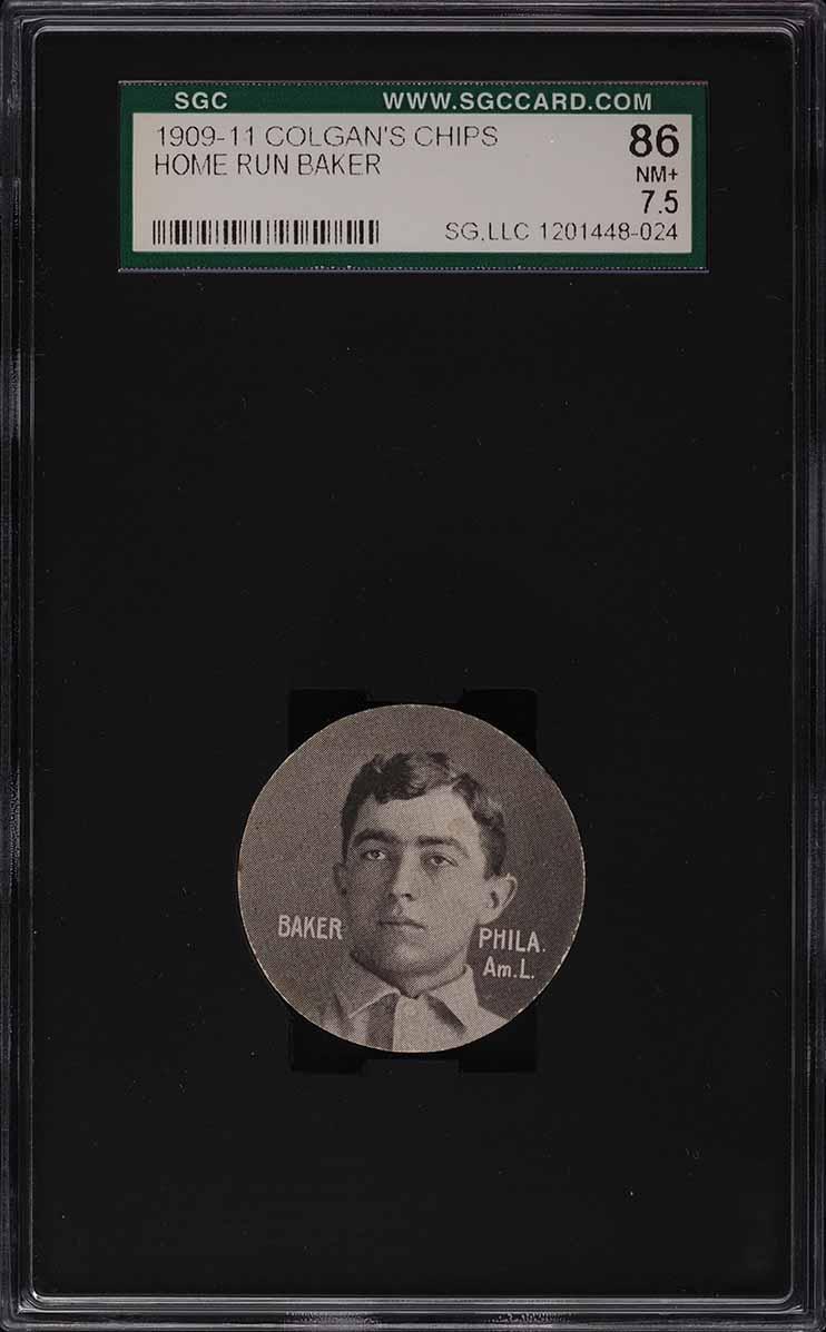 1909 Colgan's Chips Home Rune Baker SGC 7.5 NRMT+ - Image 1