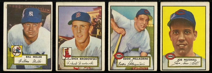 1952 Topps Lo-Mid Grd COMPLETE SET Mays Mathews Berra Robinson Mantle PSA (PWCC) - Image 17