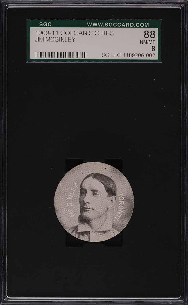 1909 Colgan's Chips Jim McGinley SGC 8 NM-MT - Image 1