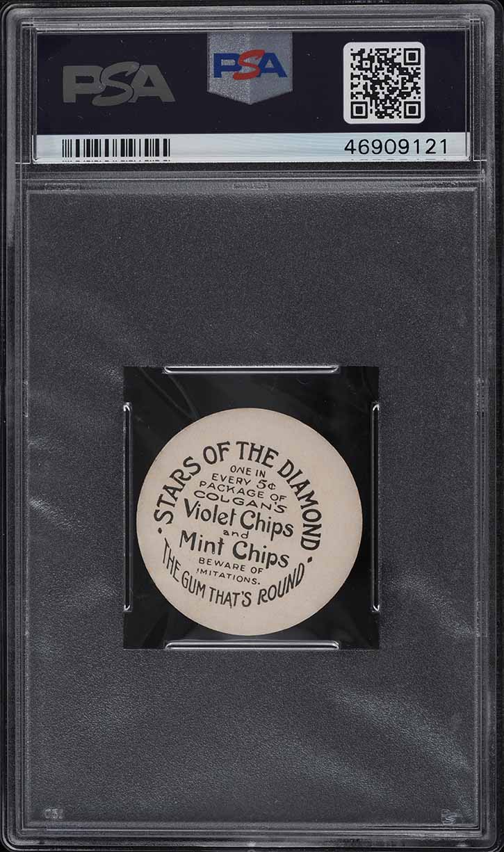 1909 Colgan's Chips Stars Of The Diamond Jack Flater PSA 2 GD - Image 2