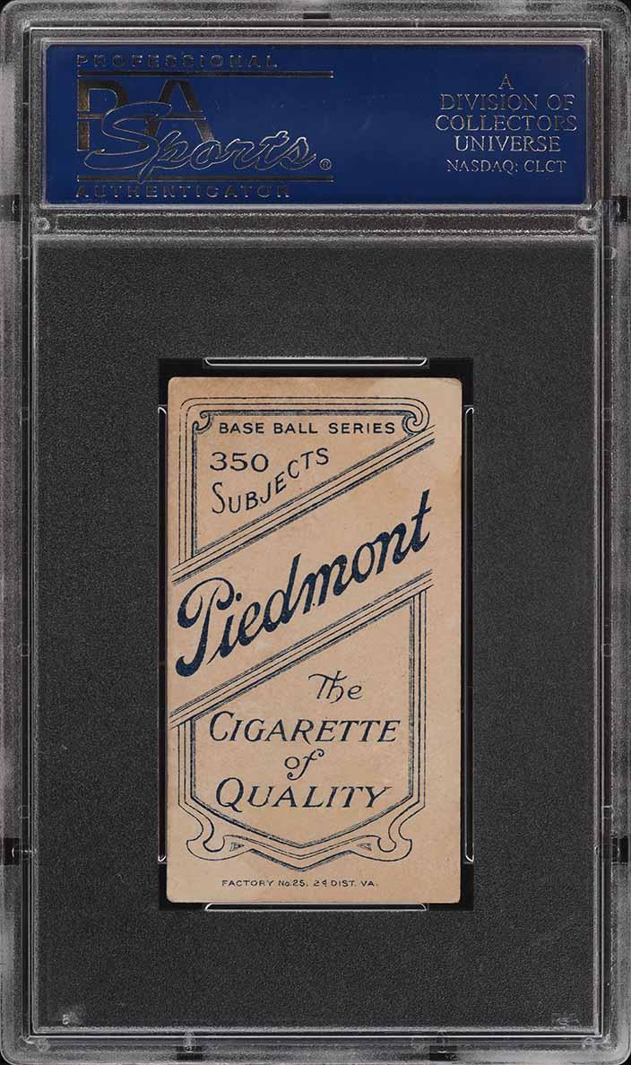 1909-11 T206 SETBREAK Bill Abstein PSA 4 VGEX (PWCC) - Image 2