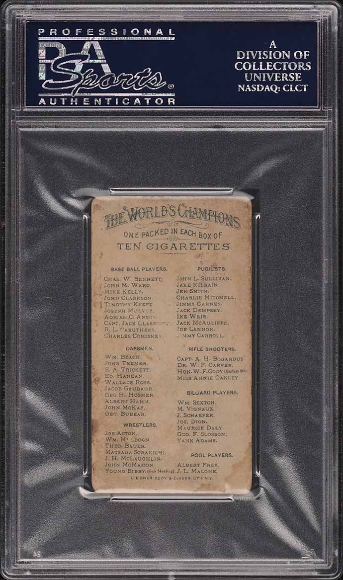 1888 N28 Allen & Ginter Adrian Cap Anson PSA 2.5 GD+ - Image 2