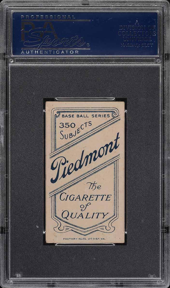 1909-11 T206 Charley O'Leary PORTRAIT PSA 4.5 VGEX+ (PWCC) - Image 2