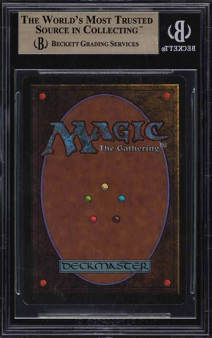 1993 Magic The Gathering MTG Unlimited Black Lotus R A BGS 9.5 GEM MINT (PWCC) - Image 2