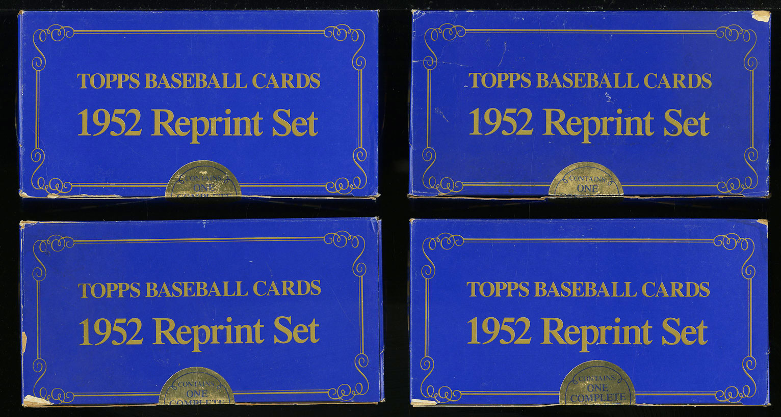 Lot(9) 1983 Topps 1952 Reprint Factory Sealed Set, Mickey Mantle #311 (PWCC) - Image 1