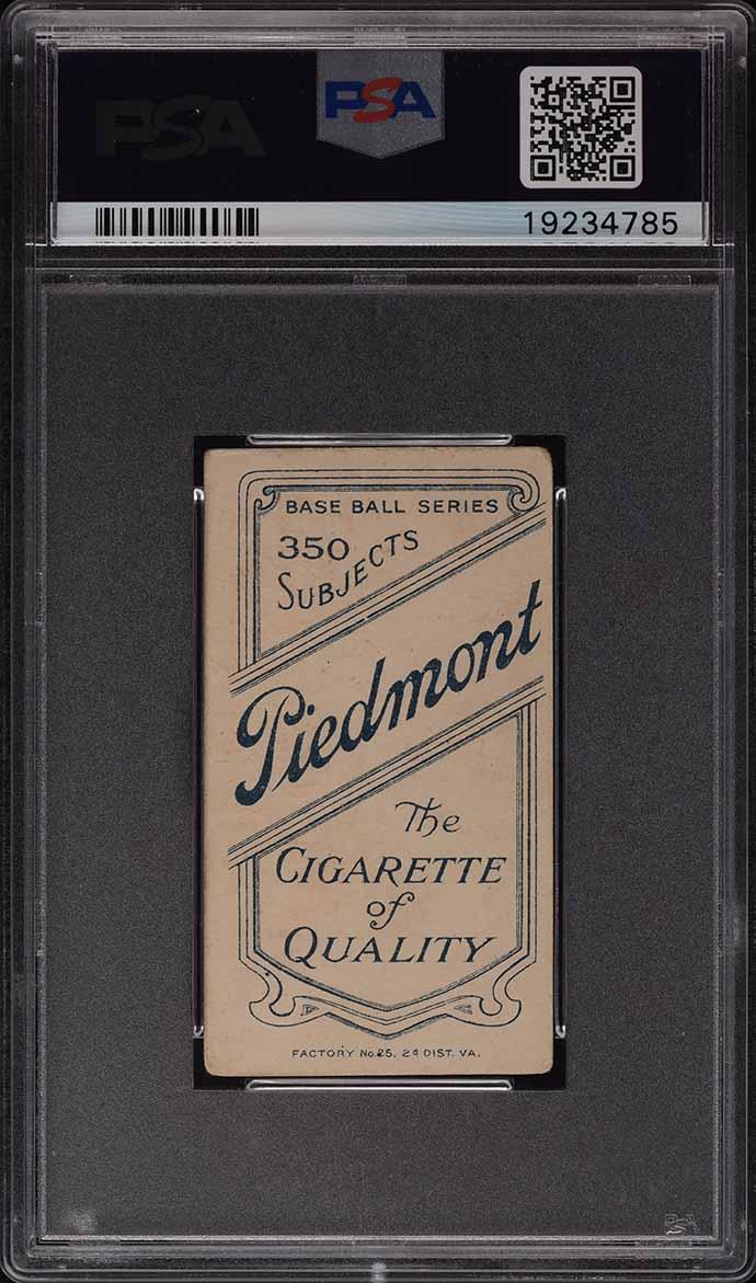 1909-11 T206 Jake Beckley PSA 4 VGEX - Image 2