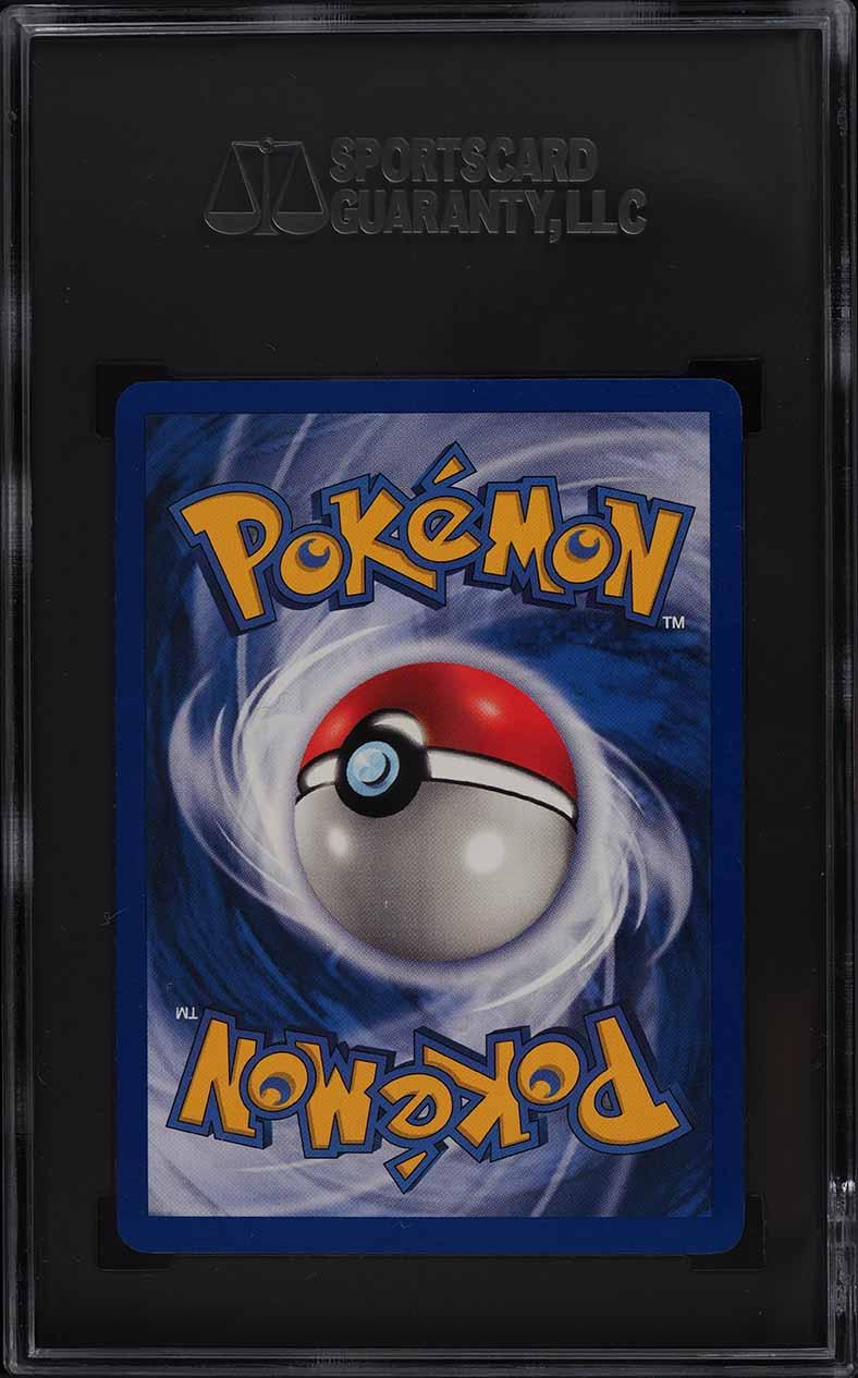1999 Pokemon Base Set Shadowless Holo Charizard #4 SGC 10 GEM MINT - Image 2