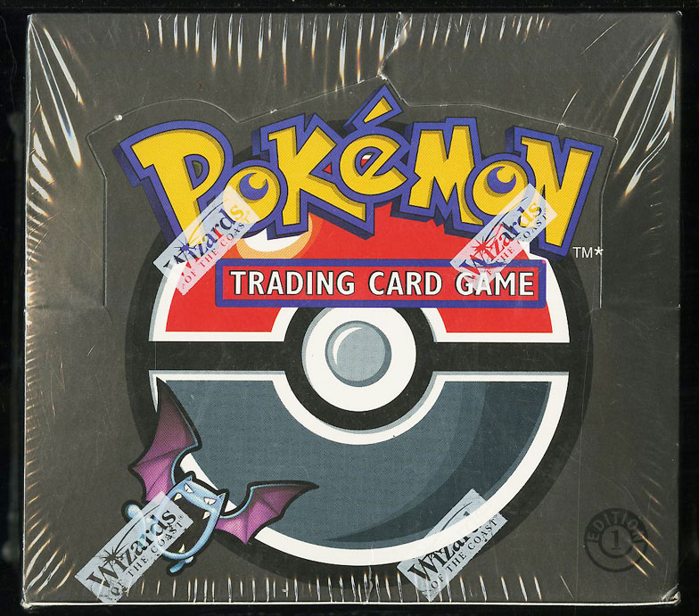 2000 Pokemon Team Rocket 1st Edition Factory Sealed Booster Box - Image 1