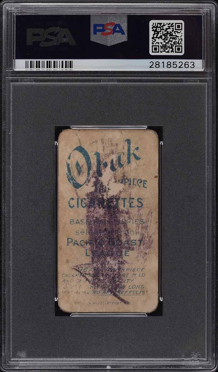 1909 T212 Obak Garrett PSA 1.5(mk) PR - Image 2
