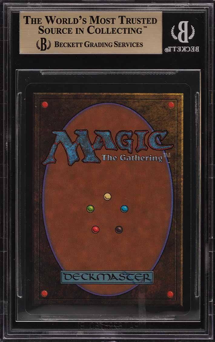 1993 Magic The Gathering MTG Beta Ancestral Recall R B BGS 9.5 GEM MT (PWCC) - Image 2