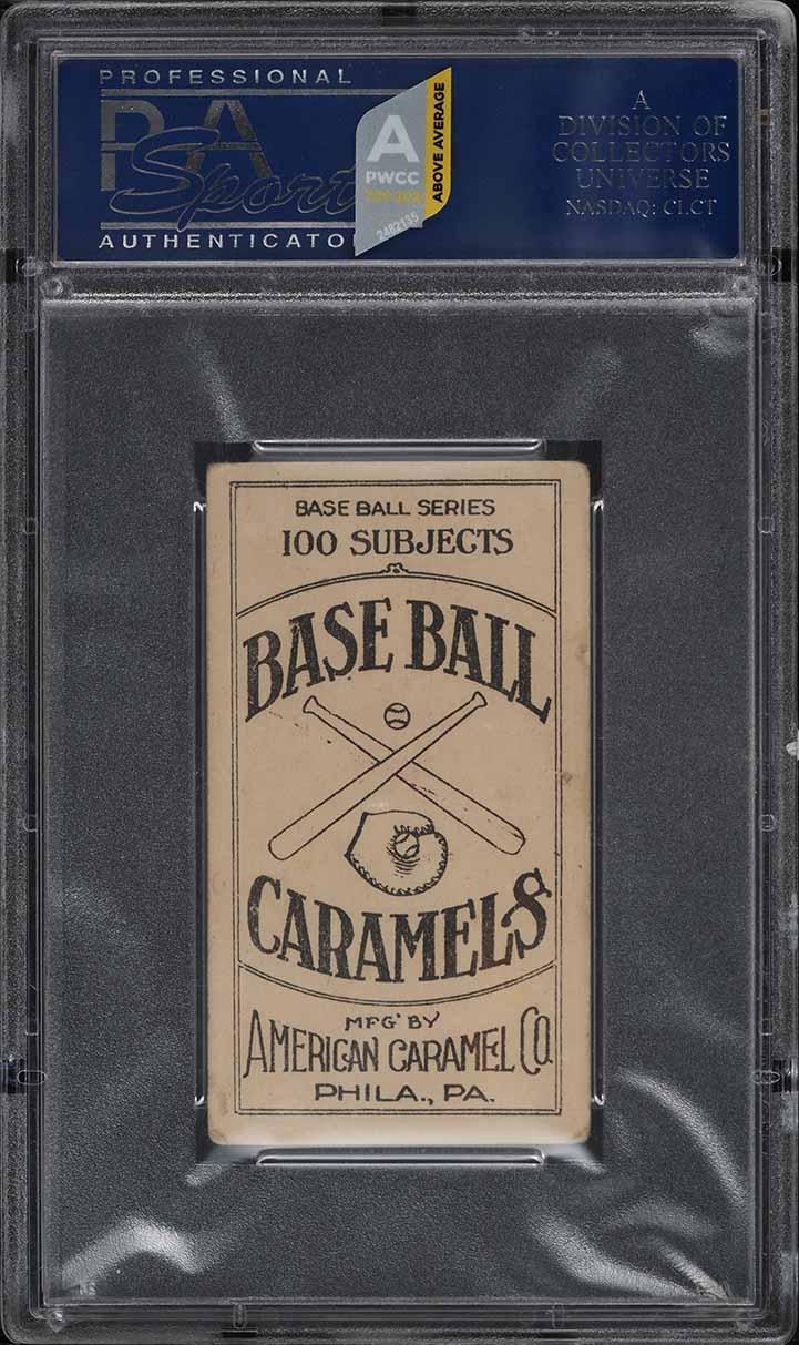 1909 E90-1 American Caramel Christy Mathewson PSA 3.5 VG+ (PWCC-A) - Image 2