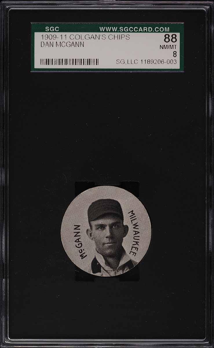 1909 Colgan's Chips Dan McGann SGC 8 NM-MT - Image 1