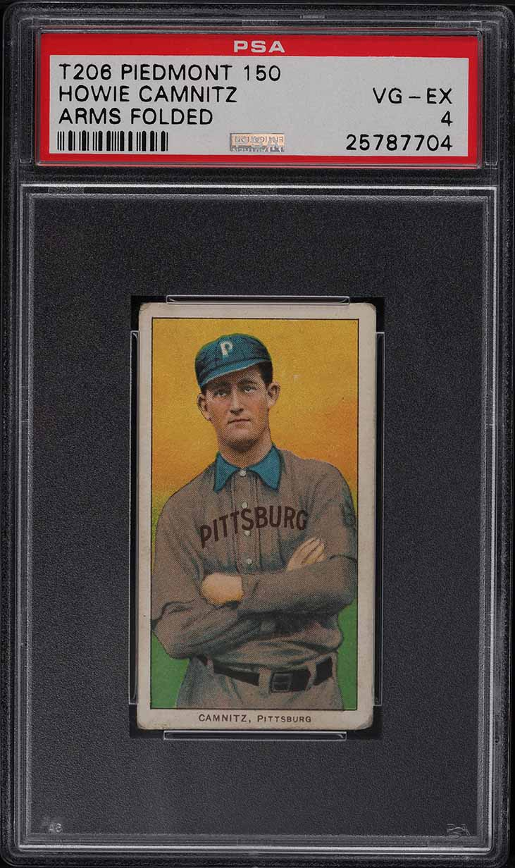 1909-11 T206 Howie Camnitz ARMS FOLDED PSA 4 VGEX - Image 1