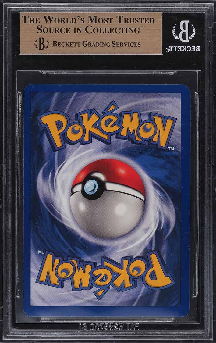 1999 Pokemon Base Set 1st Edition Shadowless Holo Blastoise #2 BGS 9.5 GEM MINT - Image 2