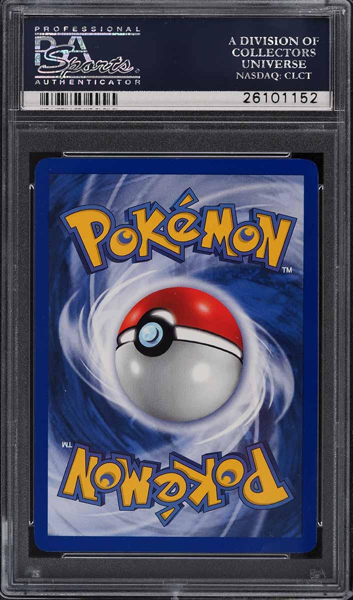 1999 Pokemon Base 1st Edition Holo Thick Stamp Shadowless Blastoise #2 PSA 10 - Image 2