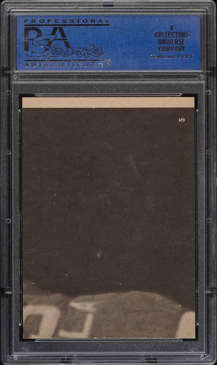 1968 Topps Test Basketball John Havlicek ROOKIE RC #5 PSA 7 NRMT - Image 2