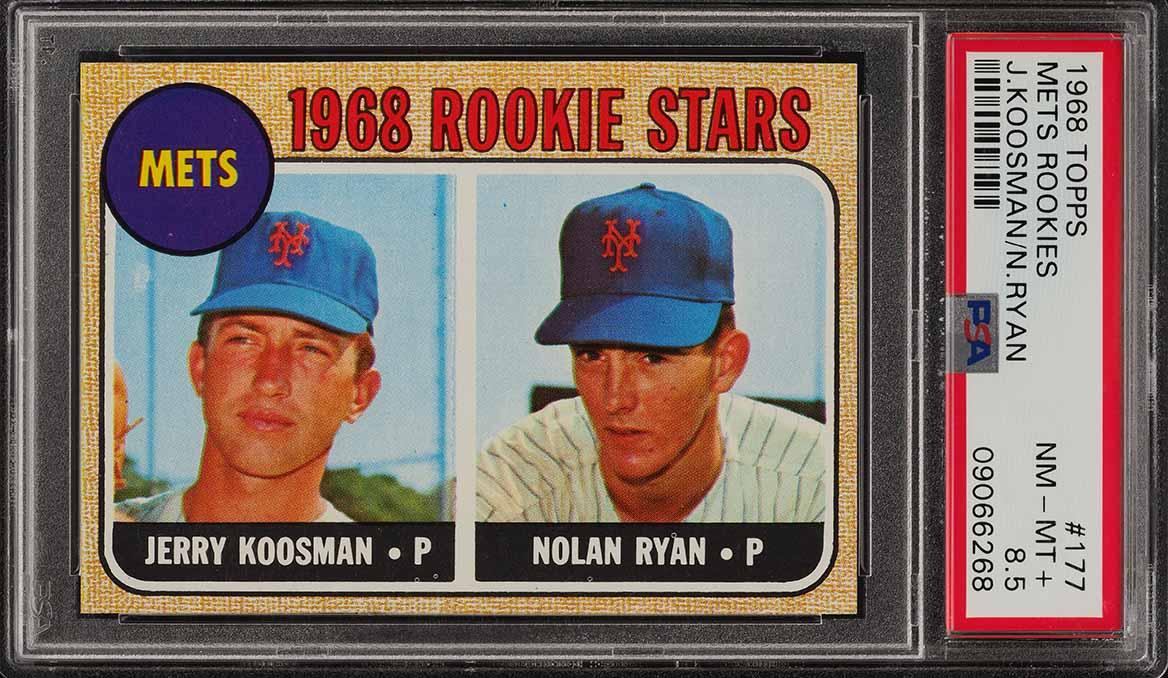 1968 Topps Nolan Ryan ROOKIE RC #177 PSA 8.5 NM-MT+ (PWCC-E) - Image 1