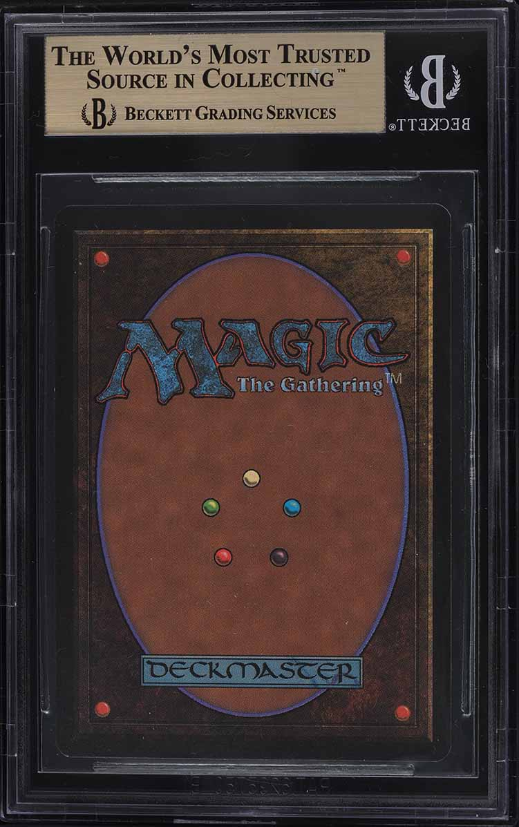 1993 Magic The Gathering MTG Beta Time Walk R B BGS 9.5 GEM MINT - Image 2