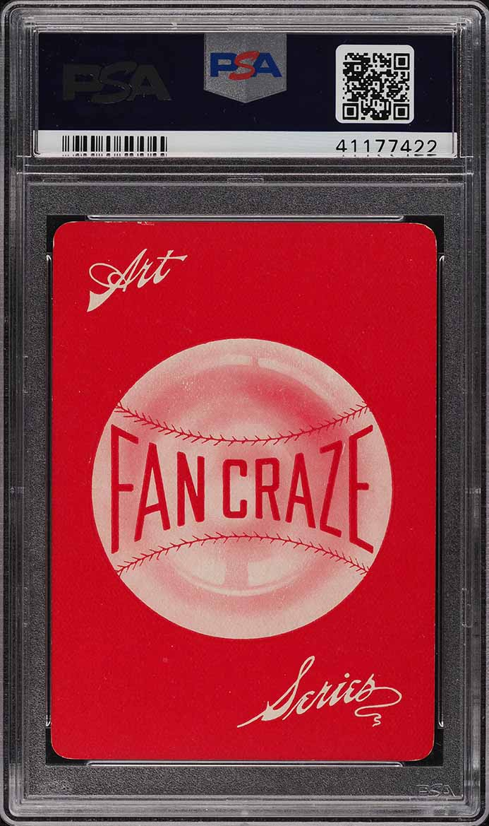 1906 Fan Craze N.L. Jake Beckley PSA 8.5 NM-MT+ - Image 2