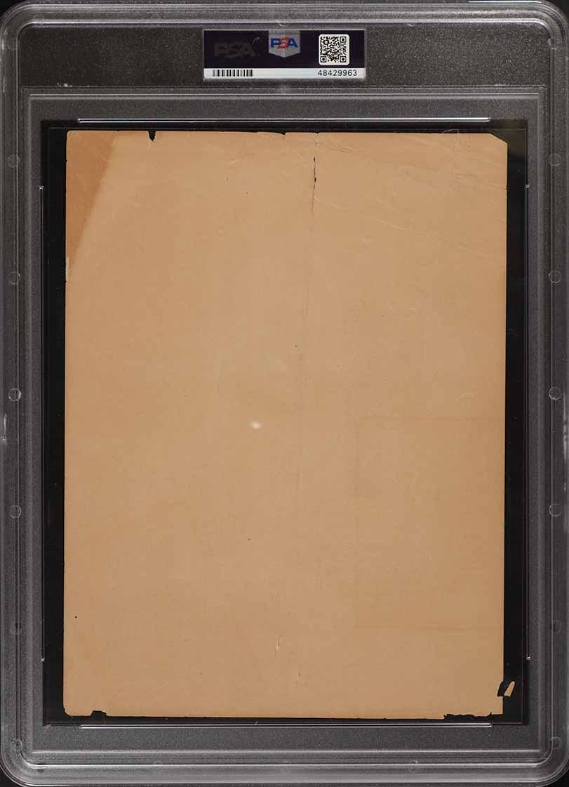 1909 M101-2 Sporting News Supplements Honus Wagner PSA 1 PR - Image 2