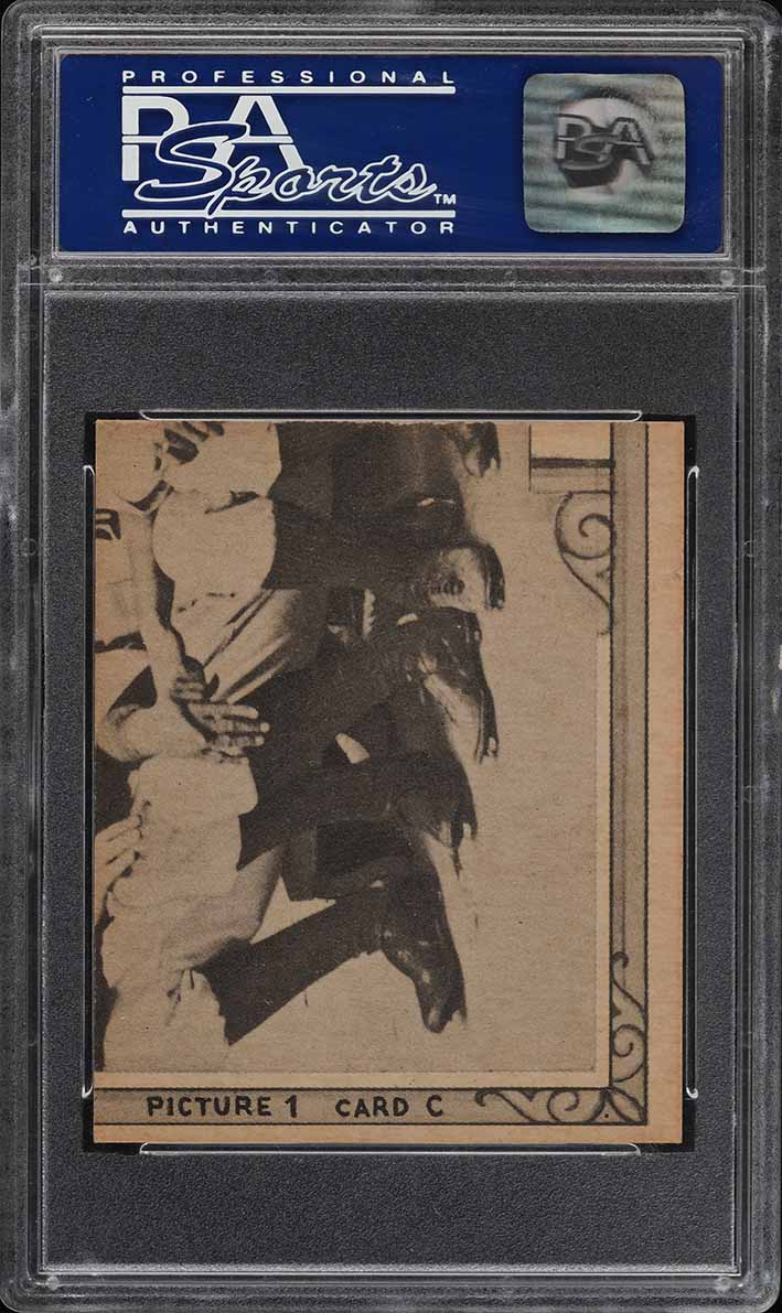 1935 Goudey 4-In-1 Henie Manush Weaver Hadley Lary PSA 8 NM-MT - Image 2