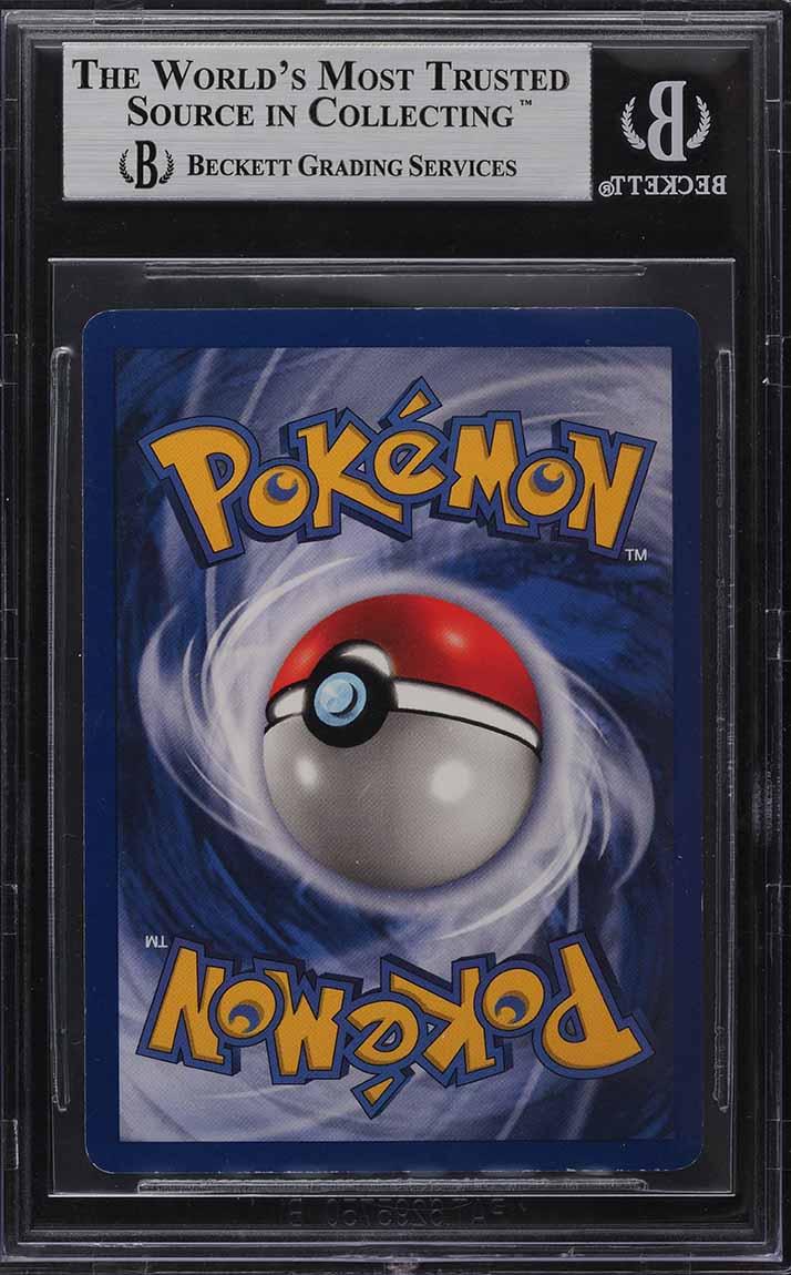 1999 Pokemon Game 1st Edition Base Set Shadowless Holo Charizard #4 BGS 8.5 - Image 2