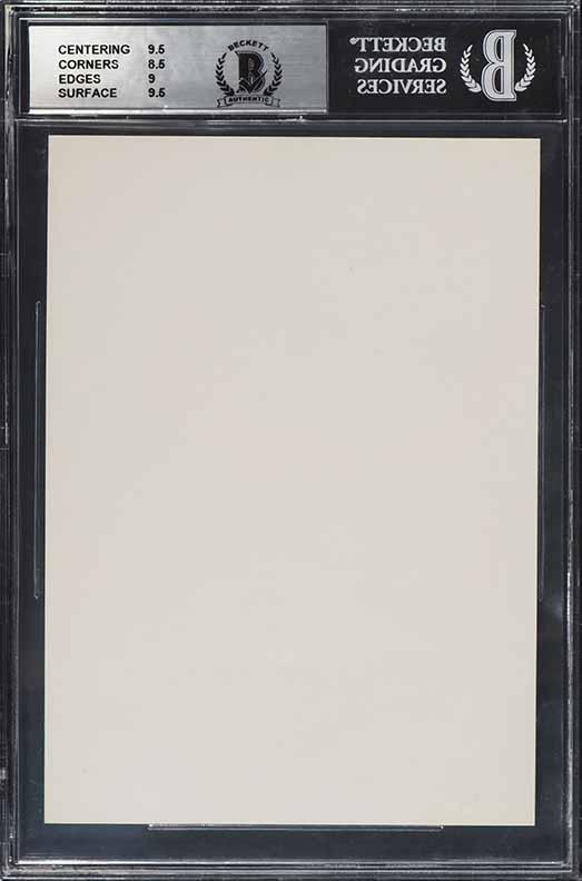 1985 Bulls Interlake Michael Jordan ROOKIE RC SIGNED AUTO BAS BGS 9, UDA (PWCC) - Image 2