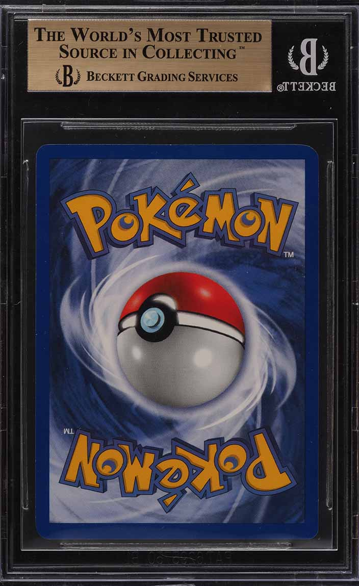 1999 Pokemon Game 1st Edition Holo Charizard THICK STAMP #4 BGS 9.5 GEM (PWCC) - Image 2