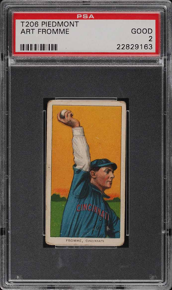 1909-11 T206 Art Fromme PSA 2 GD (PWCC) - Image 1